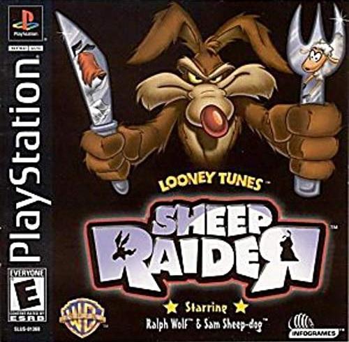 Sheep Raider American Cover