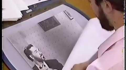 "Early unmade version of ""Who Framed Roger Rabbit"" Paul Reubens, Darrell Van Citters, Disney 1983-0"