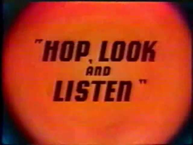 Looney Toons - Sylvester - Hop, Look And Listen