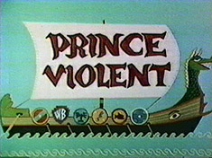Prince Violent original title card
