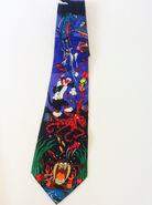 Looney Tunes Necktie Mania 1993 Neckties, Warner Brothers Cartoon Character Tie, Bugs Bunny, Tasmanian Devil, Sylvester 1990s 90s