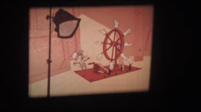 1967 Warner Bros. Merlin the Magic Mouse Cartoon 16mm Merrie Melodies