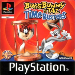 Bugs and Taz Time Busters Game Cover