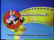 Lt tbbats bird in a bonnet