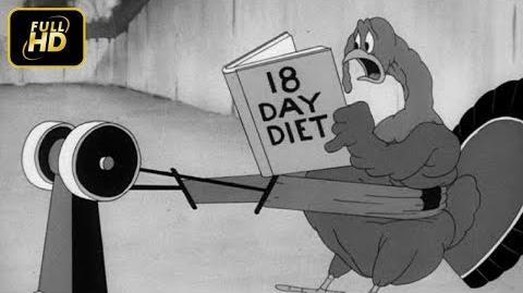 Wacky Blackout - 1942 - Looney Tunes - (HD + CC)