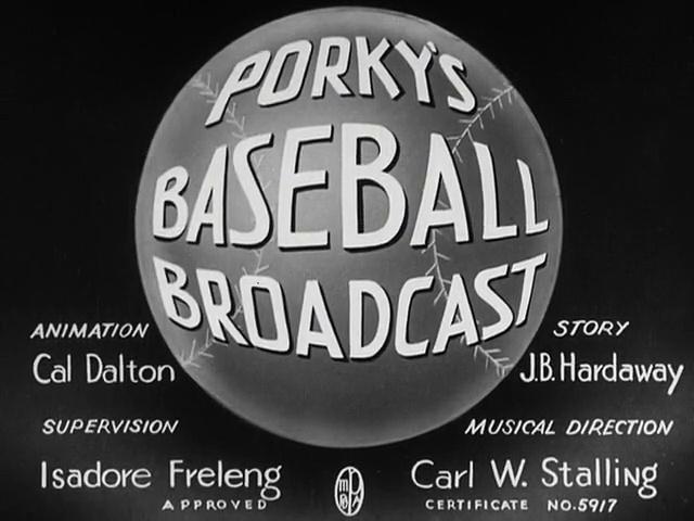Porky Pig - Porky's Baseball Broadcast (1940)