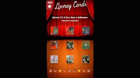 Looney Tunes Dash Card Collection Episode 17 A Very Hare-y Halloween
