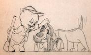 DaffyDuckHunt-pencil-Lobby2
