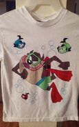Vintage Collectible WB Looney Tunes Bugs,Taz Boy,Girl T-shirt 8-10 (Front)