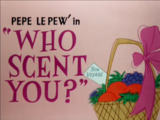 Who Scent You?