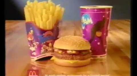 Mcdonalds space jam Advert (OLD Adverts)