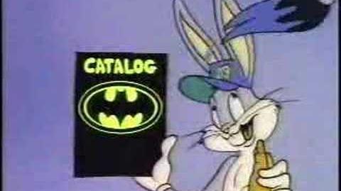 Warner brothers catalog ad from batman bugs daffy