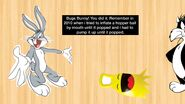 Bugs Bunny Overinflating Hopper Ball 2