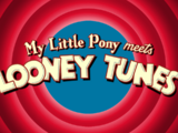 My Little Pony meets Looney Tunes
