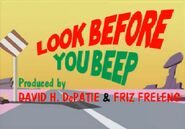Look Before You Beep 2010