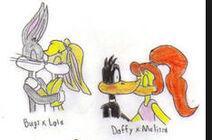 Bugs daffy lola melissa love