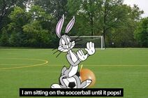 Bugs Pops The Soccerball