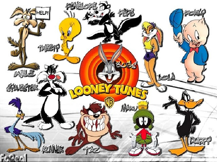 looney tune characters