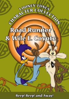 Looney Tunes Character Collection Road Runner and Wile E Coyote Cover