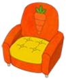 Carrotspringchair