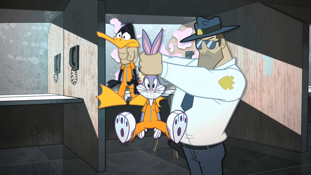 File:Officer Takes Bugs and Daffy Away.png