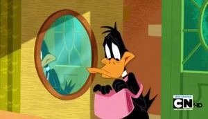 Daffy with his handbag