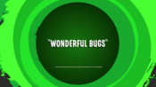 Wonderful Bugs Title Card