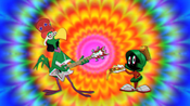 Hippie Instant Martian and Marvin Has a Slice of Cheese Pizza