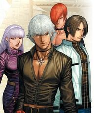 Principales king of fighters
