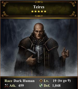 Card - Teires