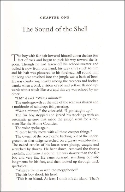 lord of the flies book pages