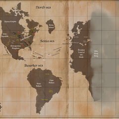 World Map by <a rel=