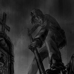 Digging his grave by <a rel=