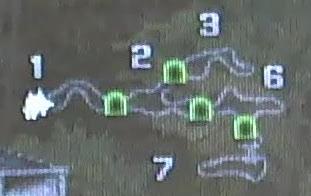 Map, Neumellow Woods, Goblin Treasure