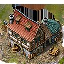 Lou building wheelwright