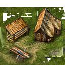 Building lumber mill