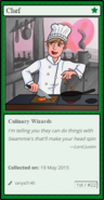 Chefcard