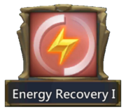 Energy Recovery I