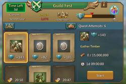 Guild Fest Board