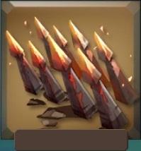 Hot iron spikes