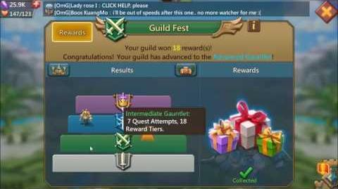 Lords Mobile Guild Fest Gauntlet latest update