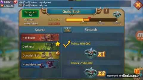 Lords Mobile Guild Bash event
