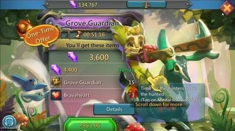 Lords Mobile Grove Guardian the new hero