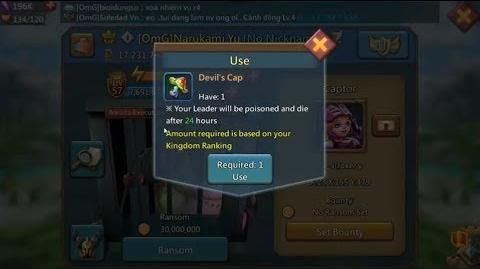 Lords Mobile Devil's Cap (how and why you should use it?)