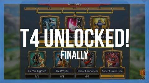 Lords Mobile T4 Unlocked!