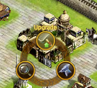 Upgrade option for a town hall