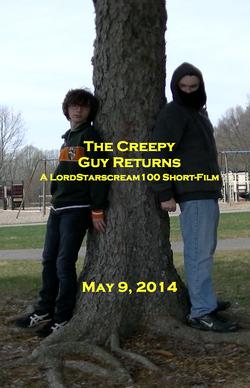 The Creepy Guy Returns Teaser Poster