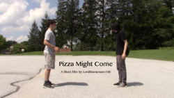 PizzaMightComeLogo