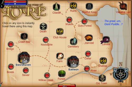 Old aqww map