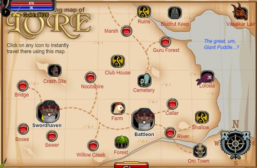 Ol aqw map